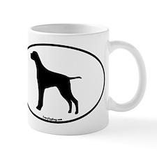 German Pointer Silhouette Mug