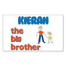 Kieran - The Big Brother Rectangle Decal
