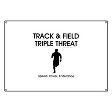 TOP Track and Field Banner
