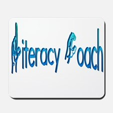 Literacy Coach Mousepad