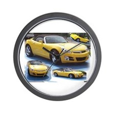 Saturn Sky Multi 1 Wall Clock