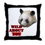 Panda Lover Throw Pillow
