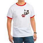Panda Lover Ringer T