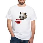 Panda Lover White T-Shirt