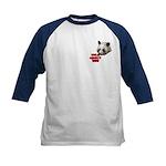 Panda Lover Kids Baseball Jersey