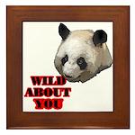 Panda Lover Framed Tile