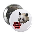 """Panda Lover 2.25"""" Button (10 pack)"""