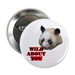 """Panda Lover 2.25"""" Button"""