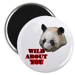 """Panda Lover 2.25"""" Magnet (100 pack)"""