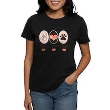 Peace Love Dogs Tee