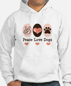 Peace Love Dogs Jumper Hoody
