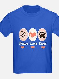 Peace Love Dogs T
