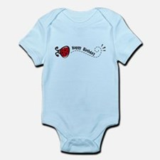 Ladybug Birthday Infant Bodysuit