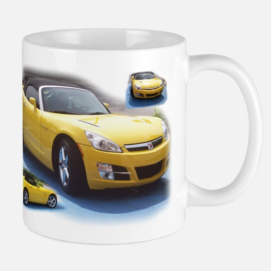 Yellow Saturn Sky Mug
