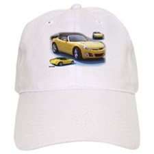 Yellow Saturn Sky Baseball Cap