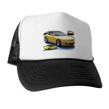 Yellow Saturn Sky Trucker Hat
