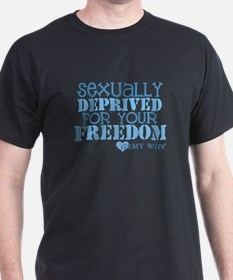 Sexually Deprived - Army Wife T-Shirt