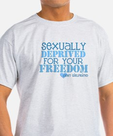 Sexually Deprived - Army GF T-Shirt