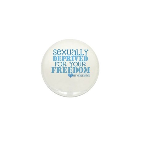 Sexually Deprived - Army GF Mini Button