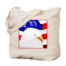 4th of July-Eagle Tote Bag