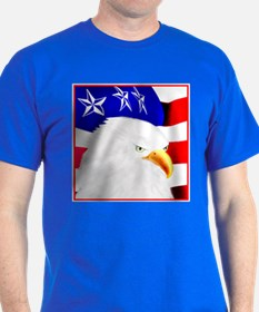 4th of July-Eagle T-Shirt