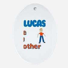 Lucas - The Big Brother Oval Ornament