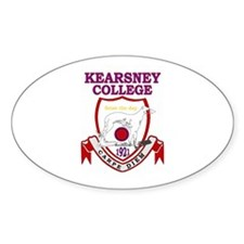 Kearsney College Shield Oval Sticker (10 pk)