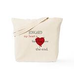 My heart is bleeding love Tote Bag