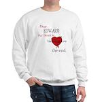 My heart is bleeding love Sweatshirt