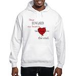 My heart is bleeding love Hooded Sweatshirt