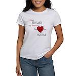 My heart is bleeding love Women's T-Shirt