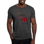 My heart is bleeding love Dark T-Shirt
