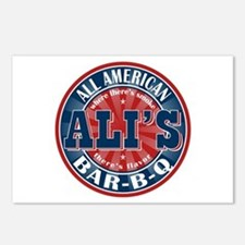 Ali's All American BBQ Postcards (Package of 8)