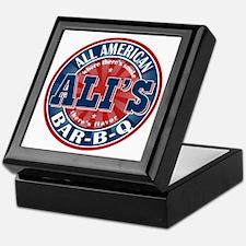Ali's All American BBQ Keepsake Box