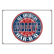 Andrew's All American BBQ Banner