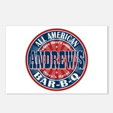 Andrew's All American BBQ Postcards (Package of 8)