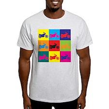 Biking Pop Art T-Shirt