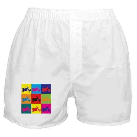 Biking Pop Art Boxer Shorts