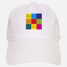 Bicycling Pop Art Baseball Baseball Cap