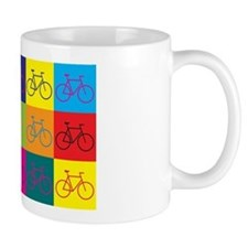 Bicycling Pop Art Coffee Mug