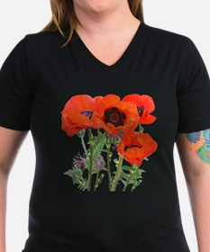 Red Poppies Shirt