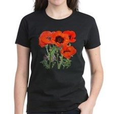 Red Poppies Tee