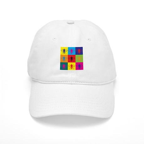 Bees Pop Art Cap