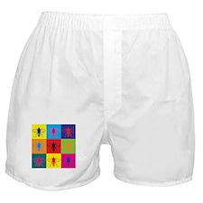Bees Pop Art Boxer Shorts