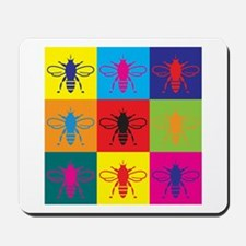 Bees Pop Art Mousepad