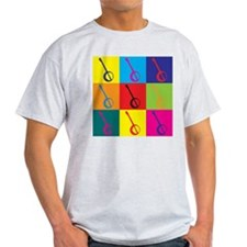 Banjo Pop Art T-Shirt