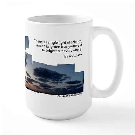 Inspirational Java Large Mug - Asimov Single Light