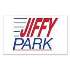 JIFFY PARK Rectangle Decal