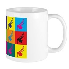 Bagpipes Pop Art Mug