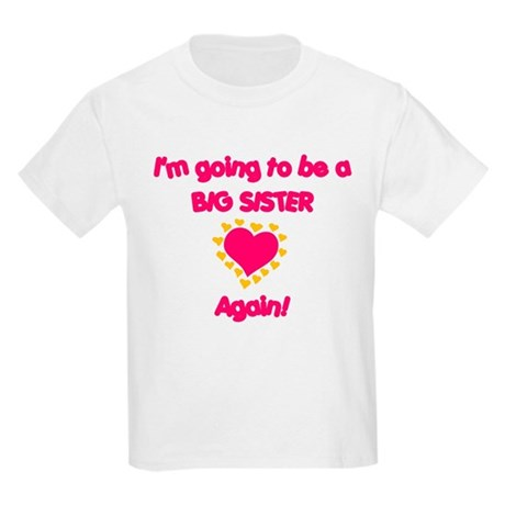 Big Sister again Kids Light T-Shirt